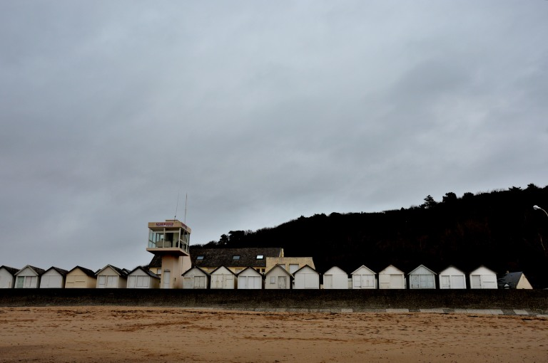 Carolles beach