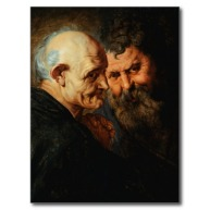 Two-Saints-by-Peter-Paul-Rubens